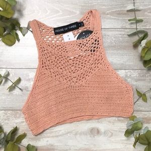House of Three Knitted Top